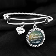 The Greatest Gift Our Parents Ever Gave Us Was Each Other Charm Bracelet