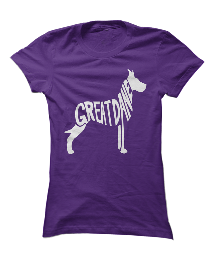 Great Danes Spell Love