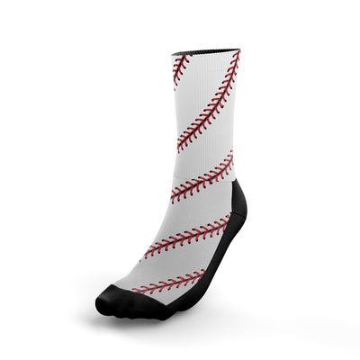 Baseball Stitch Crew Socks