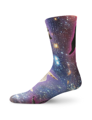 Interstellar Cats Crew Socks