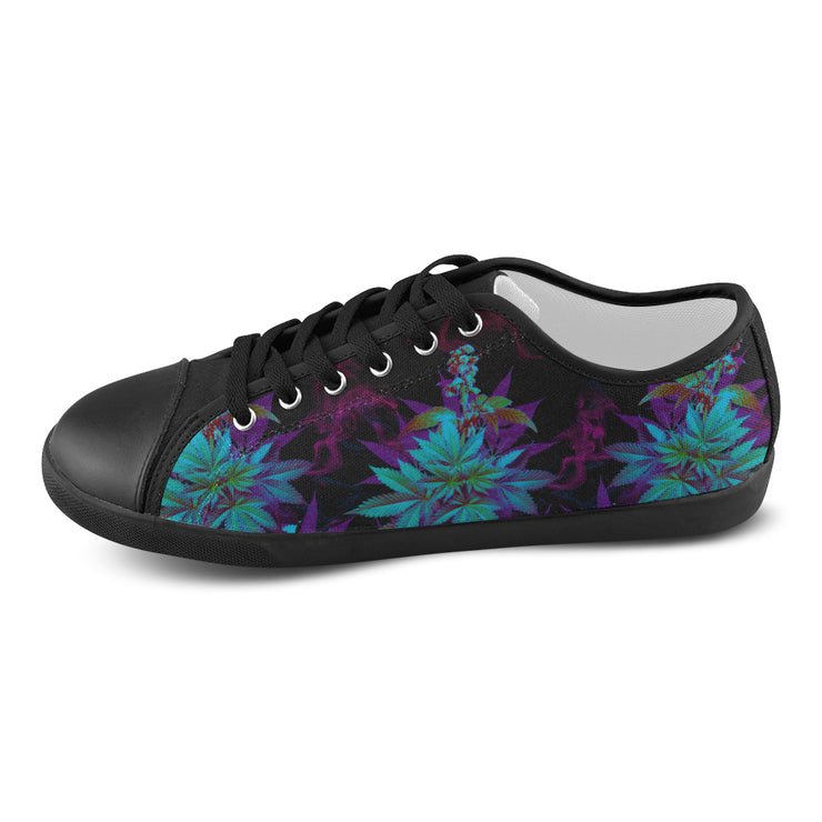 Cannabis Haze Women's Canvas Shoes