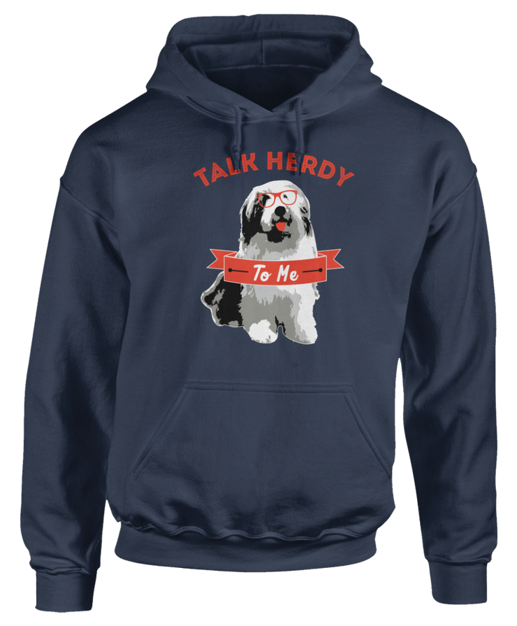 Old English Sheepdog Talk Herdy To Me