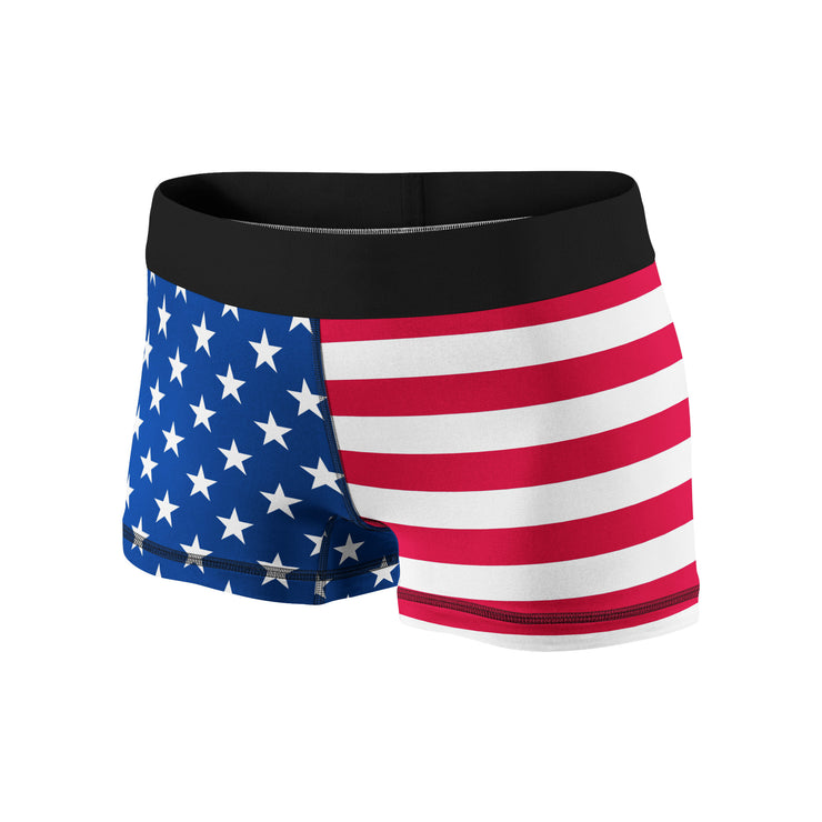 Stars & Stripes Fitness Shorts