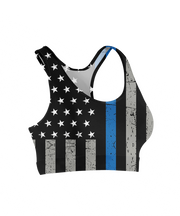 Thin Bue Line Sports Bra