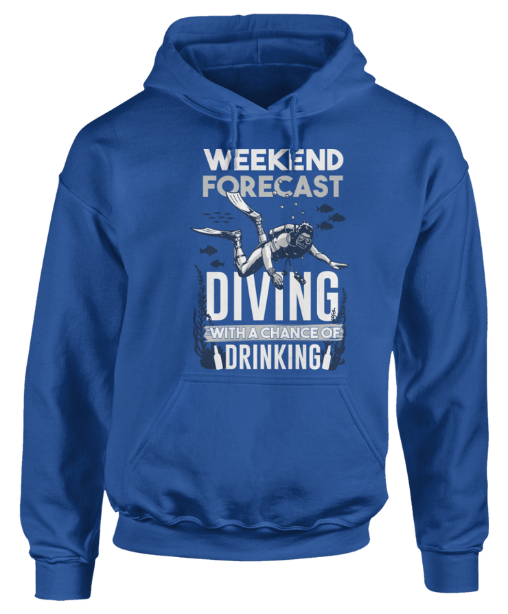 Weekend Forecast - Diving With Chance Of Drinking