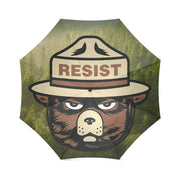 Resist Bear Foldable Umbrella