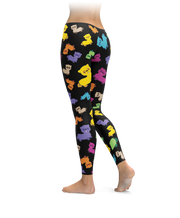 Colorful Ferret Leggings