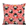 Pug Throw Pillows