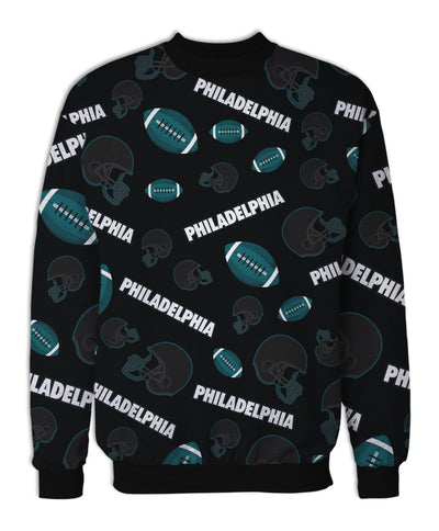 Philadelphia Football Icons Fleece Sweatshirt