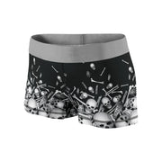 Flying Skulls & Bones Fitness Shorts