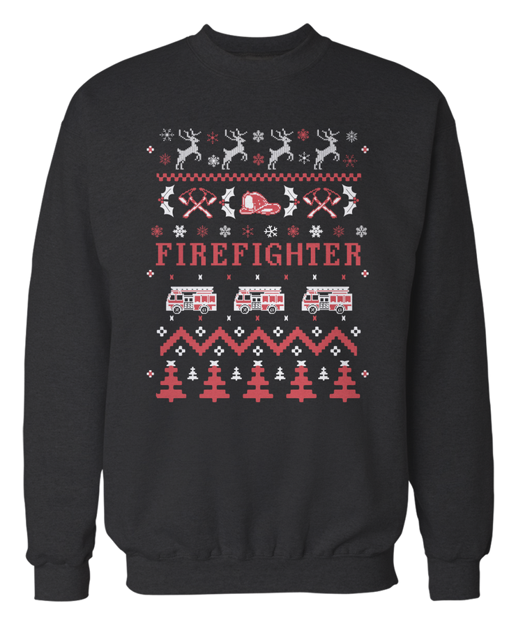 Firefighter - Ugly Christmas Sweater