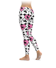 French Bulldog Heart Leggings