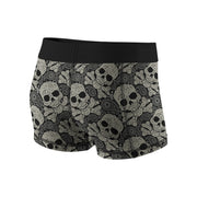 Swirly Skulls Fitness Shorts
