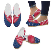 Washington Baseball Stitches Women's Canvas Shoes