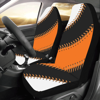 San Francisco Baseball Stitches Car Seat Covers (Set of 2)