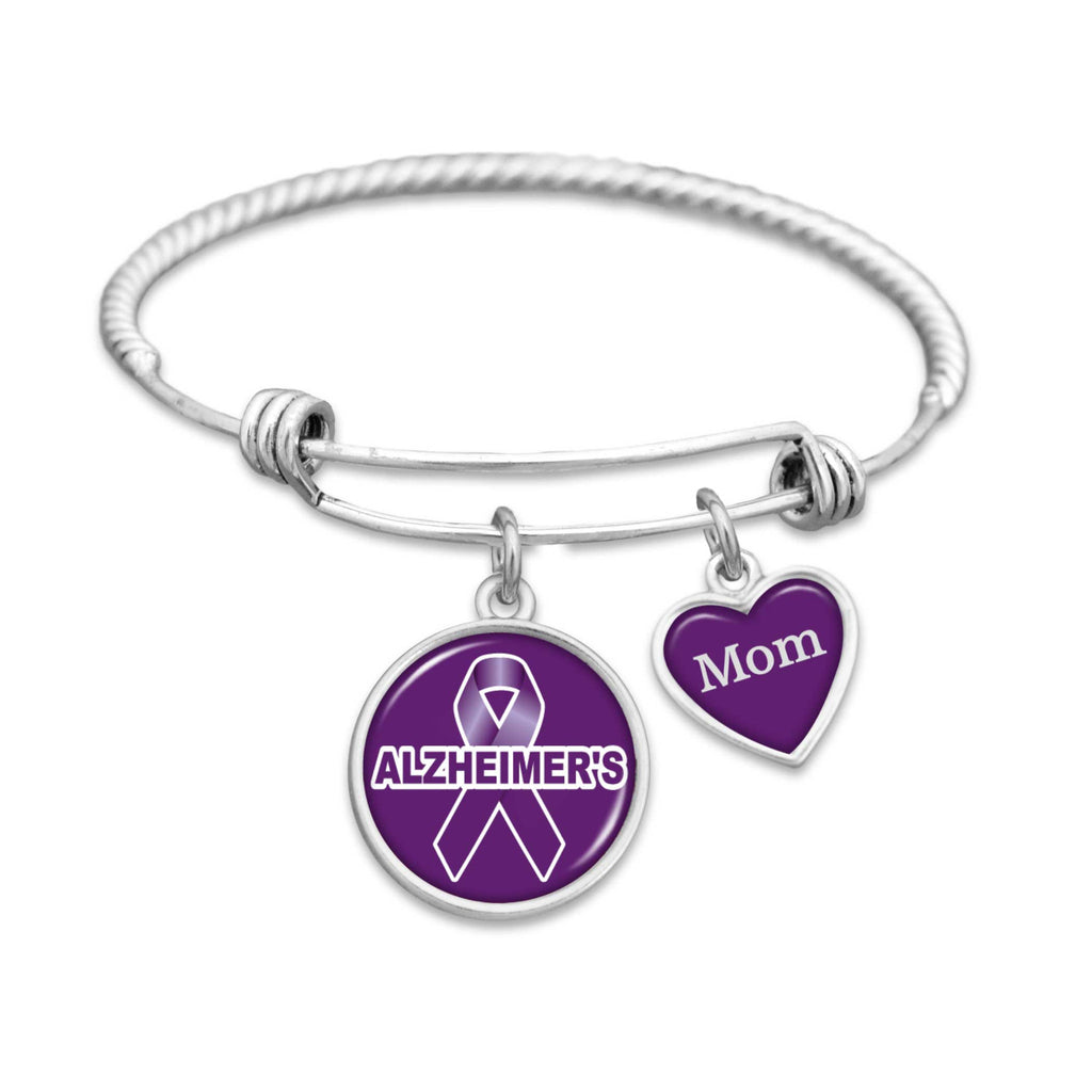 Customizable Alzheimer's Awareness Bracelet - Choose Family Member
