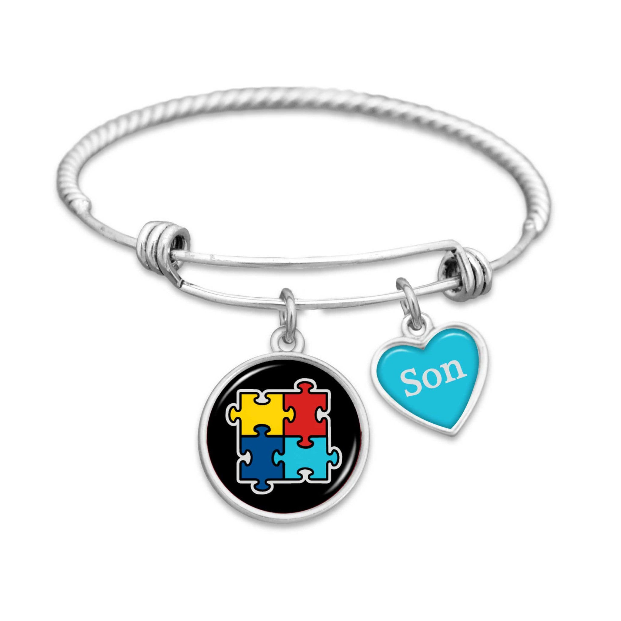 cord unity awareness for autism asp x p bracelet each