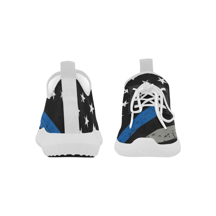Thin Blue Line Ultra Light Running Shoes