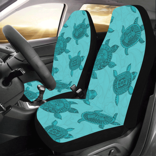 Sea Turtle Car Seat Covers Set Of 2 Brave New Look