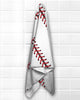 Baseball Stitches Beach Towel