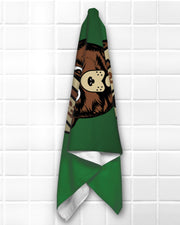 Resist Bear Beach Towel