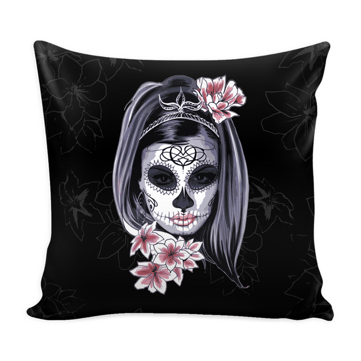Dia De Los Muertos Throw Pillows