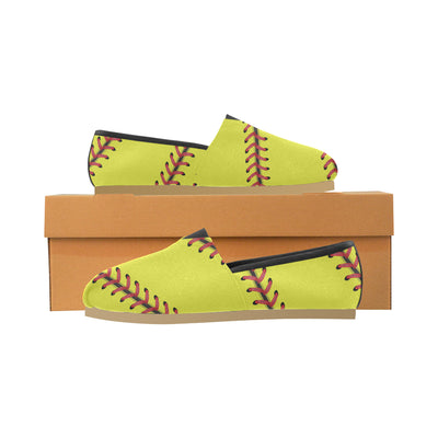 Softball Stitches Canvas Shoe