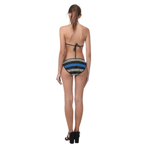 Thin Blue Line Bikini Swimsuit
