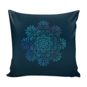 Watercolor Mandala Throw Pillows