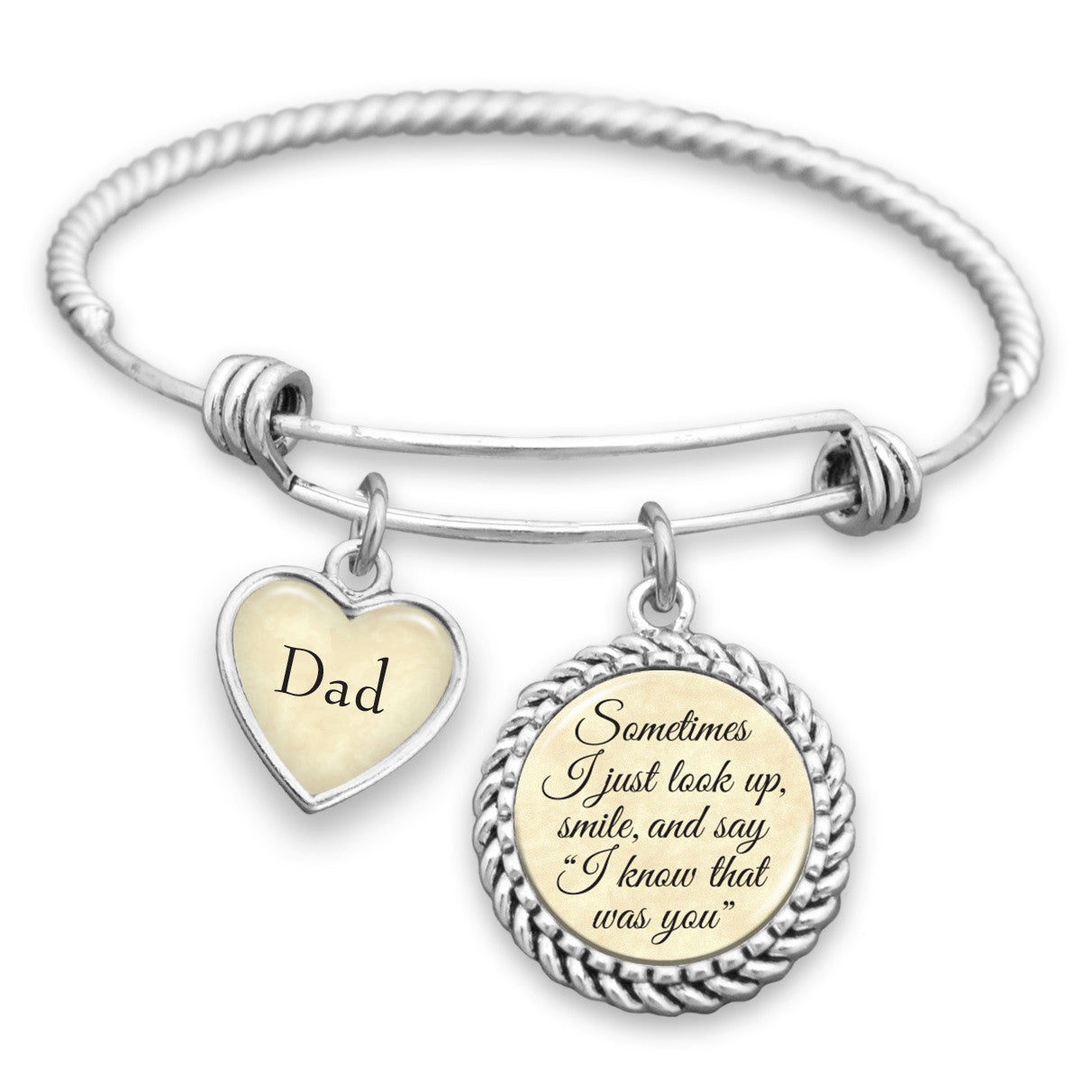 Know That Was You Personalized Name Bracelet