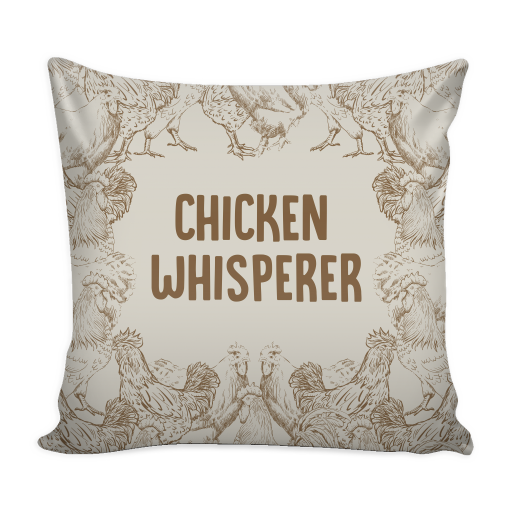Decorative Pillows With Chickens : Chicken & Rooster Throw Pillows