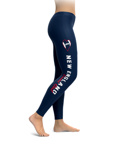 New England Football Lovin' Girl Leggings