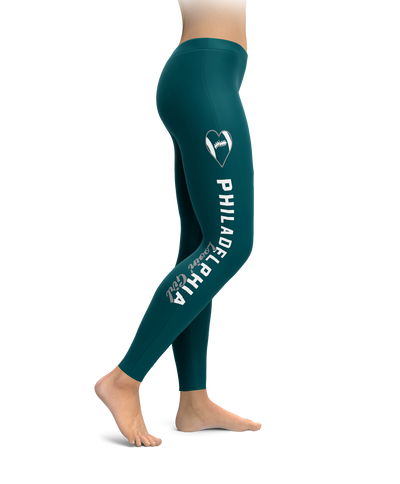 Philadelphia Football Lovin' Girl Leggings