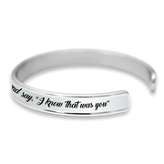 Know That Was You Cuff Bracelet