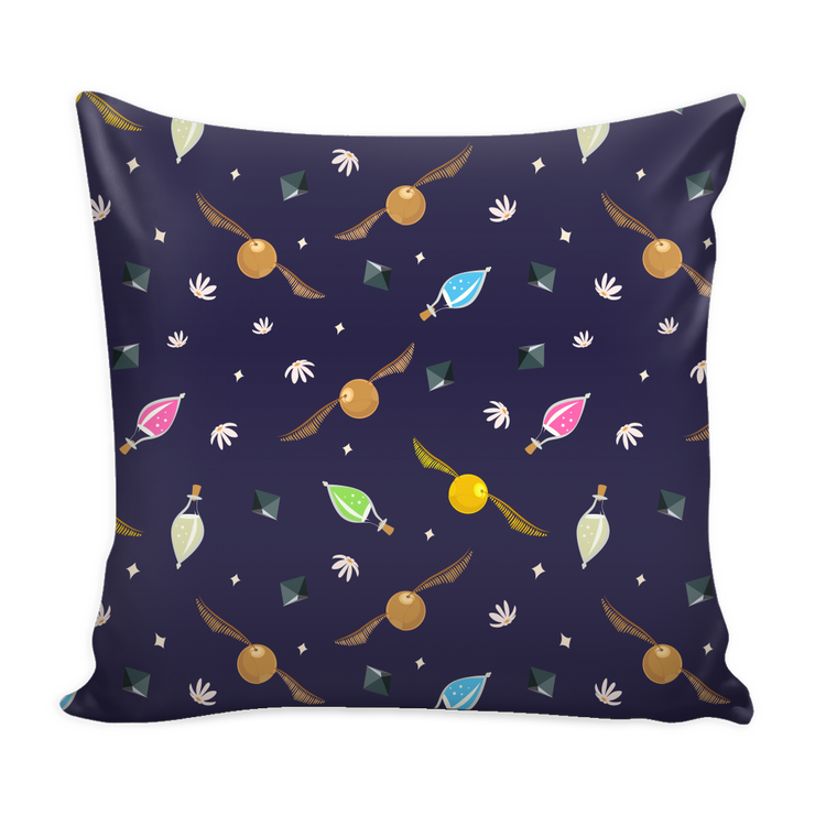Witchcraft and Wizardry Throw Pillows
