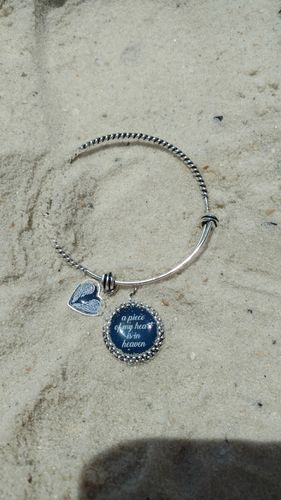 Piece Of My Heart Night Sky Charm Bracelet