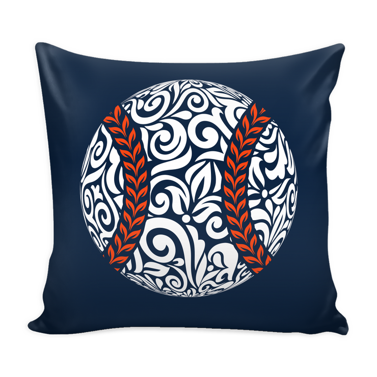 Detroit Baseball Throw Pillows