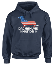 Dachshund Dog Nation - US Flag