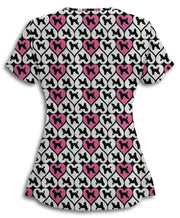 Poodle Lover Scrub Top
