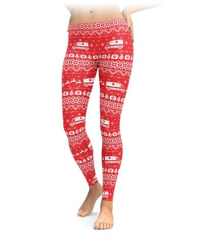 Nordic Paramedics and EMTs Leggings