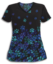 Cool Flying Paws Scrub Top