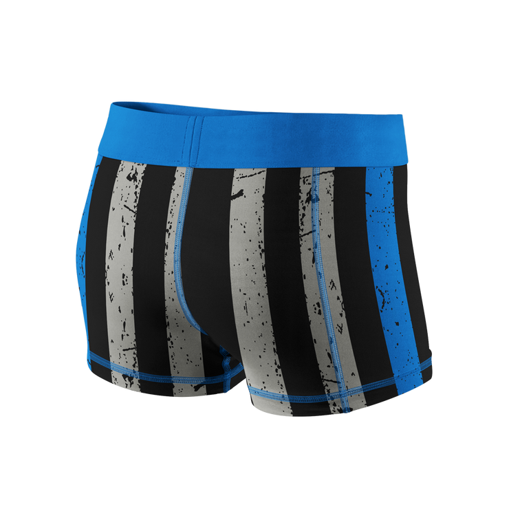 Thin Blue Line Fitness Shorts