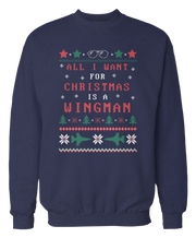 Top Gun - All I Want Is A Wingman - Ugly Christmas Sweater