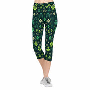 Shamrock 3/4 Capri Leggings