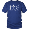 Faith, Hope, Love Unisex Shirt