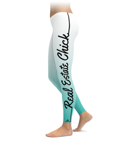 Real Estate Chick Leggings