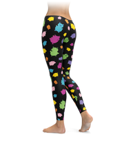 Colorful Pig Leggings