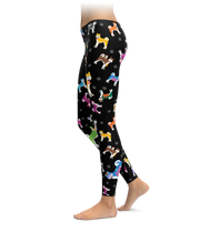 Colorful Husky Leggings