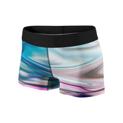 Holographic Future Fitness Shorts