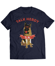 German Shepherd Talk Herdy To Me